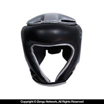 Open Face Boxing Headgear Black by Seven